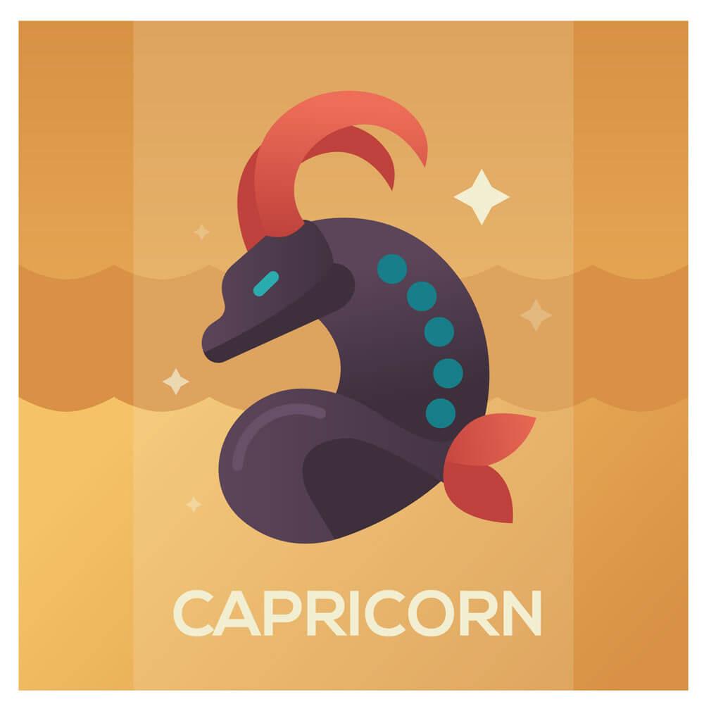 Stenbocken Stjärntecken Capricorn