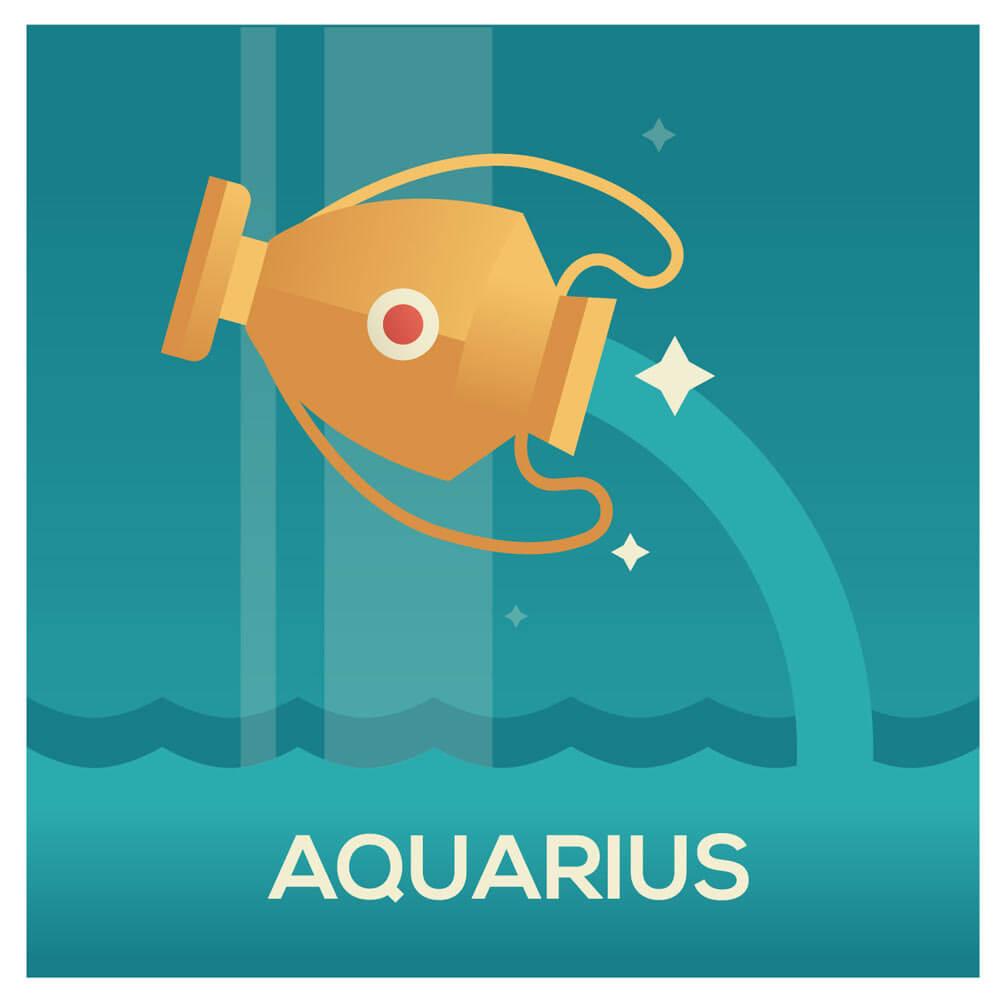 Vattumannen Stjärntecken Aquarius