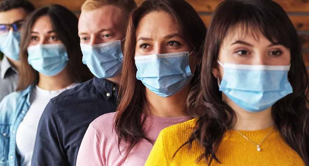 Ansiktsmask på engelska